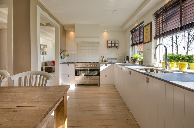 Flooring installations in Kitchen